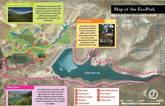 Map of the SHE EcoPark itself