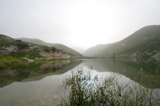 Morning dust - Ziglab Dam