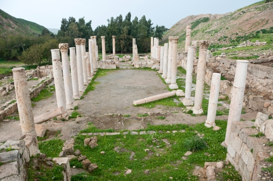 Ancient site of Pella